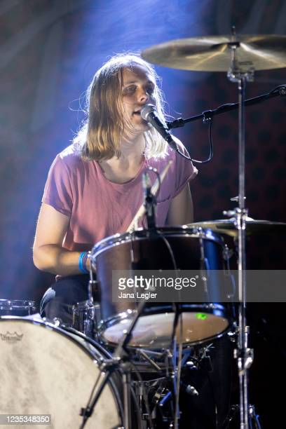 September 18: Jascha Kreft of Odd Couple performs live on stage during day 2 of Pure & Crafted Festival in Berlin on September 18, 2021 in Berlin,...