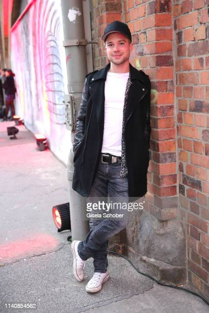 Jascha Rust during the Bunte New Faces Award Film at Umspannwerk Alexanderplatz on May 2, 2019 in Berlin, Germany.