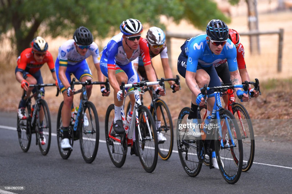Jasha Sütterlin of Germany and Movistar Team   during the 21st ... 588c30504