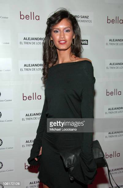 Jaslene Gonzalez arrives to People En Espanol's honoring Alejandro Sanz The Stars Of 'Bella' at The Bowery Hotel in New York City on January 24 2008
