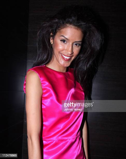 Jaslene Gonzalez attends GOOD Morning GOOD Night at Greenhouse on June 10 2009 in New York City