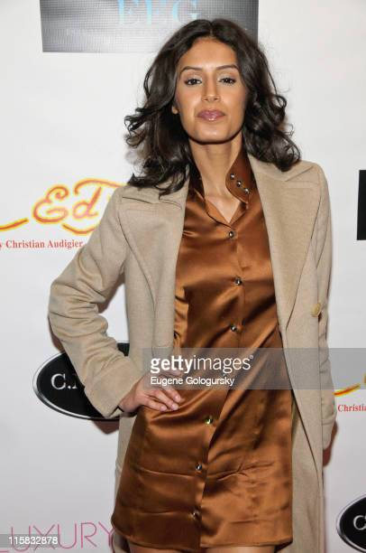 Jaslene Gonzalez attends the Faces of Fashion Week soiree at RDV on February 17 2009 in New York City