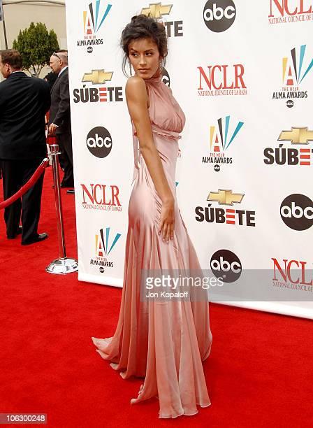 Jaslene Gonzalez during 2007 NCLR ALMA Awards Arrivals at Pasadena Civic Center in Pasadena California United States