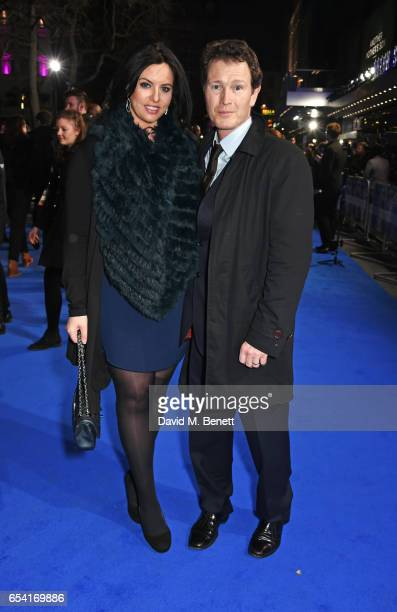 Jasmin Duran and Nick Moran attend the World Premiere of 'Another Mother's Son' on March 16 2017 in London England