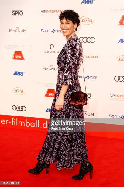 Jasmin Gerat attends the German Film Ball 2018 at Hotel Bayerischer Hof on January 20, 2018 in Munich, Germany.