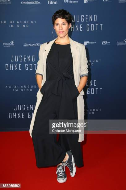 Jasmin Gerat attends the premiere of 'Jugend ohne Gott' at Zoo Palast on August 22 2017 in Berlin Germany