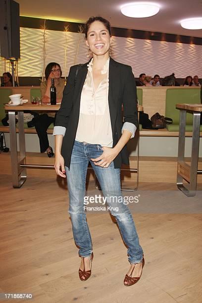 Jasmin Gerat When Opening The New Organic fast food chain Super Good in Berlin