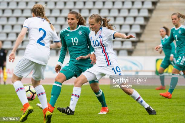 Jasmin Jabbes during the Nordic Cup 2017 match between U16 Girl's Germany and U16 Girl's Iceland on July 6 2017 in Oulu Finland