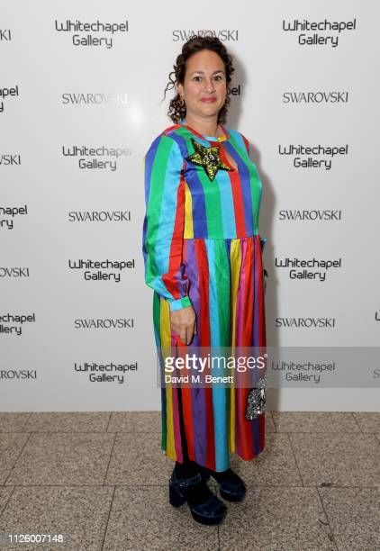 Jasmin Pelham attends a glamorous gala dinner at Whitechapel Gallery as Rachel Whiteread is celebrated as the recipient of the Whitechapel Gallery...