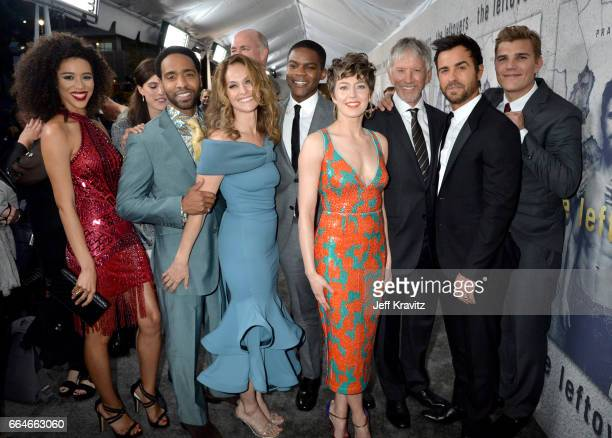 Jasmin SavoyBrown Kevin Carroll Amy Brenneman Damon Lindelof Michael Gaston Jovan Adepo Carrie Coon Tom Perrotta Scott Glenn Justin Theroux and Chris...