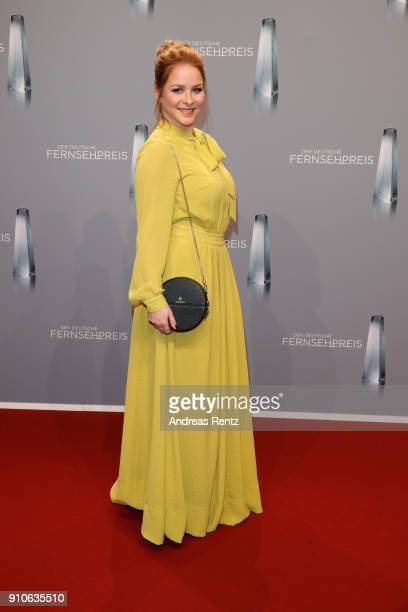 Jasmin Schwiers attends the German Television Award at Palladium on January 26 2018 in Cologne Germany