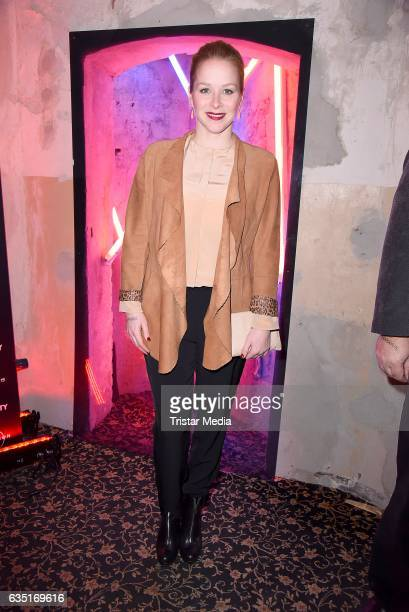 Jasmin Schwiers attends the Pantaflix Party At The 67th Berlinale International Film Festival on February 13, 2017 in Berlin, Germany.