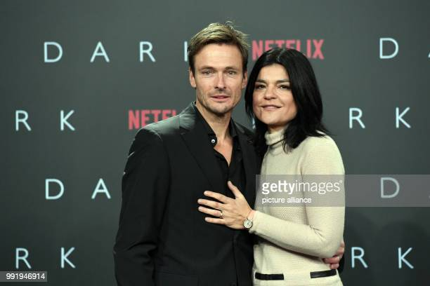 Jasmin Tabatabai and Andreas Pietschmann arrive at the Europe Premiere of Netflix series 'Dark' in Berlin Germany 20 November 2017 Photo Maurizio...