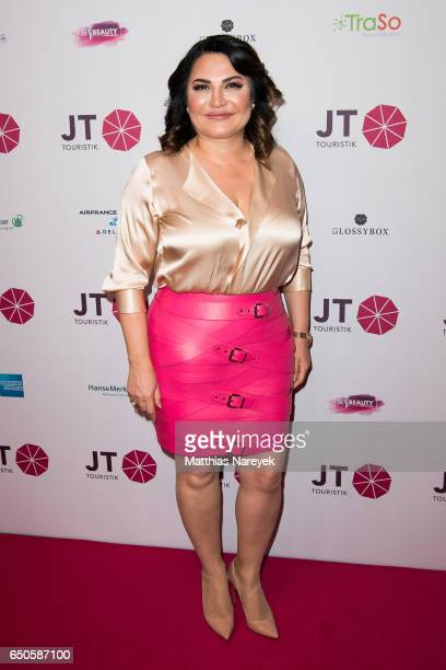 Jasmin Taylor attends the JT Touristik party at Hotel De Rome on March 9 2017 in Berlin Germany