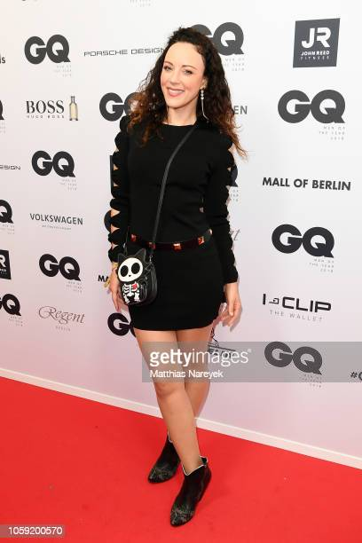 Jasmin Wagner arrives for the 20th GQ Men of the Year Award at Komische Oper on November 8 2018 in Berlin Germany