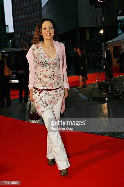 Jasmin Wagner at The Interpreter Premiere in Cinestar at Potsdamer Platz in Berlin 130405