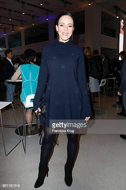 Jasmin Wagner attends the 18th Media Award by Kindernothilfe at Volkswagen Group Forum on November 4 2016 in Berlin Germany