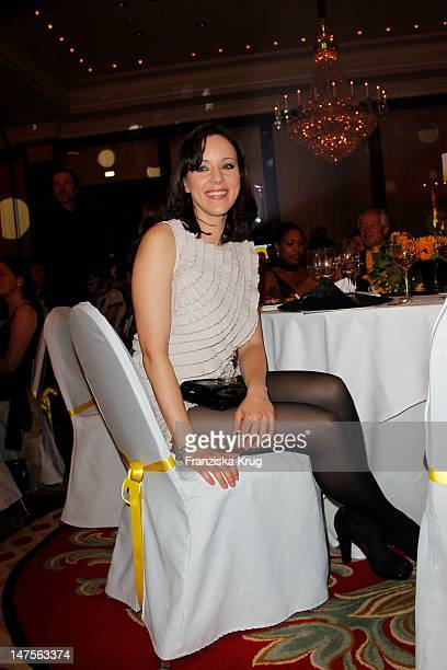 Jasmin Wagner attends the dreamball 2011 charity gala at the RitzCarlton on September 16 2011 in Berlin Germany