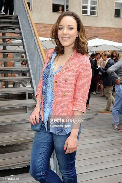 Jasmin Wagner attends the Gala Fashion Brunch at Ellington Hotel on July 5 2013 in Berlin Germany