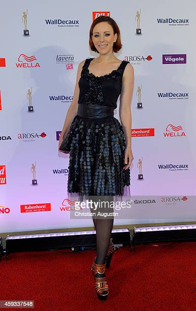 Jasmin Wagner attends the 'Goldene Bild Der Frau' Award 2014 at TUI Operettenhaus on November 20 2014 in Hamburg Germany