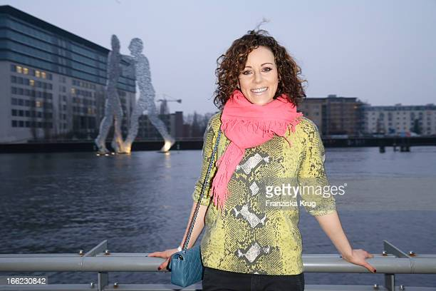 Jasmin Wagner attends the Guido Maria Kretschmer For eBay Collection Launch at Label 2 on April 10 2013 in Berlin Germany