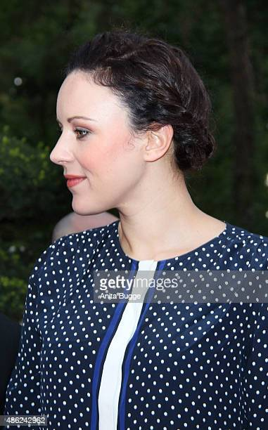 Jasmin Wagner attends the JT Tourism BBQ Party at 'Pink Villa' on September 2 2015 in Berlin Germany
