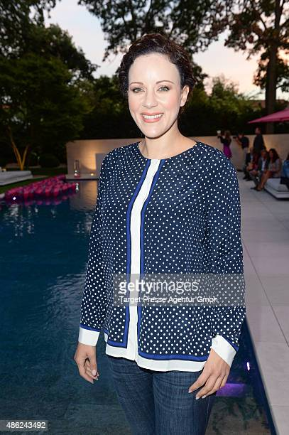 Jasmin Wagner attends the JT Touristik BBQ on September 2 2015 in Berlin Germany
