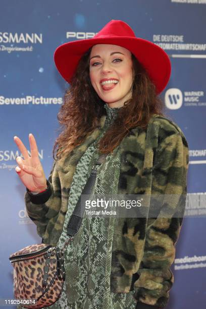 Jasmin Wagner attends the Lindenberg Mach Dein Ding world premiere at CinemaxX Dammtor on January 7 2020 in Hamburg Germany