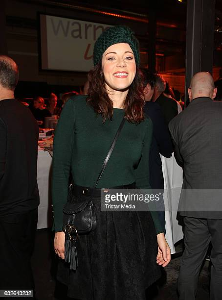 Jasmin Wagner attends the warmup party by Filmfoerderung Hamburg SchleswigHolstein at Kampnagel on January 24 2017 in Hamburg Germany
