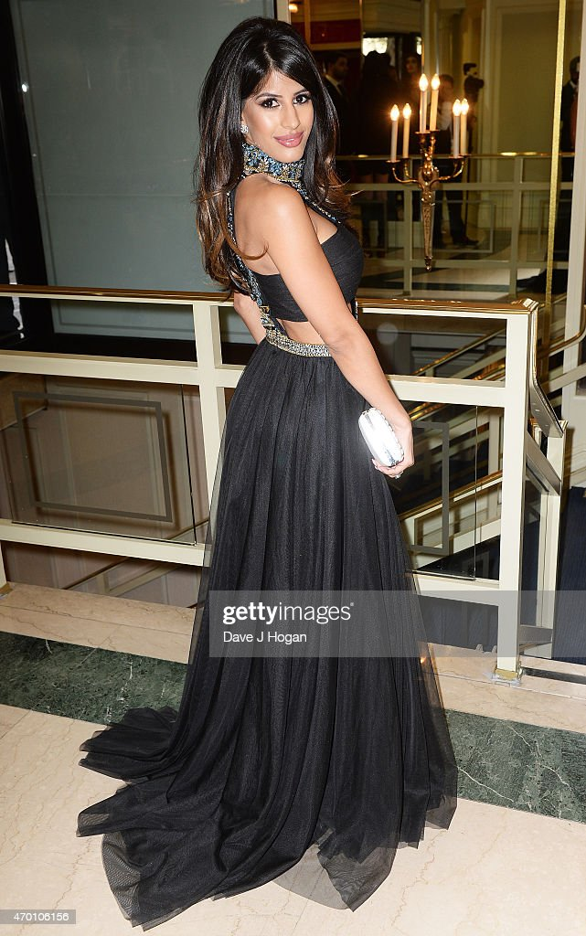 Jasmin Walia attends The Asian Awards 2015 at The Grosvenor House Hotel on April 17, 2015 in London, England.