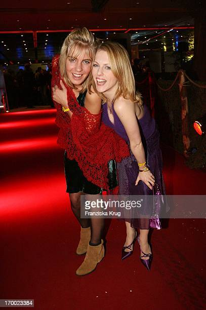 Jasmin Weber And Natalie Alison at of aftershow party for European premiere of King Kong Berlin