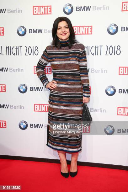 Jasmina Tabatabi attends the BUNTE BMW Festival Night on the occasion of the 68th Berlinale International Film Festival Berlin at Restaurant...