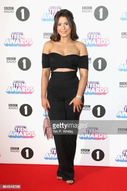Jasmine Armfield attends the BBC Radio 1 Teen Awards 2017 at Wembley Arena on October 22 2017 in London England