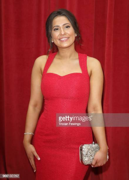 Jasmine Armfield attends the British Soap Awards 2018 at Hackney Empire on June 2 2018 in London England