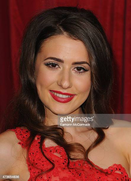 Jasmine Armfield attends the British Soap Awards at Manchester Palace Theatre on May 16 2015 in Manchester England