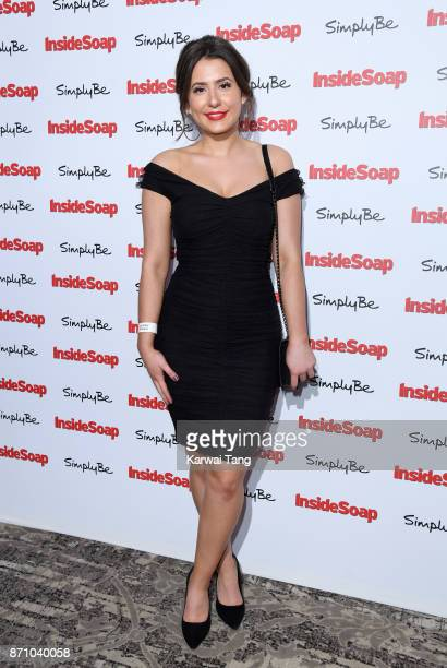 Jasmine Armfield attends the Inside Soap Awards at The Hippodrome on November 6 2017 in London England