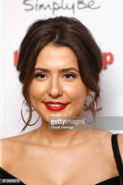 Jasmine Armfield attends the Inside Soap Awards held at The Hippodrome on November 6 2017 in London England
