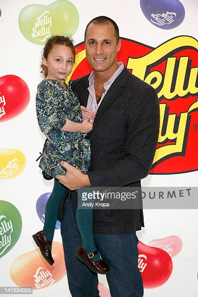 Jasmine Barker and Nigel Barker attend the 2012 Jelly Belly Easter Egg Hunt at Dylan's Candy Bar on March 18 2012 in New York City