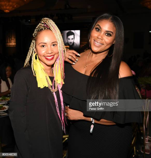 Jasmine Brand and Nina Parker at the ASCAP 2017 Rhythm Soul Music Awards at the Beverly Wilshire Four Seasons Hotel on June 22 2017 in Beverly Hills...
