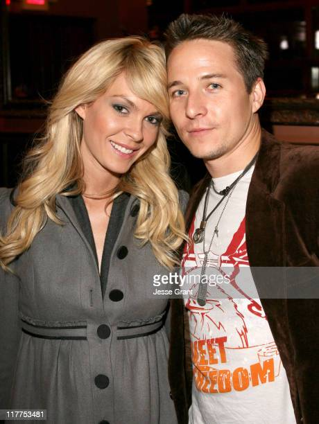 Jasmine Dustin and Travis Aaron Wade during 'Come Early Morning' After Party at LIVEstyle Entertainment's Premiere Lounge During AFI FEST 2006 at...