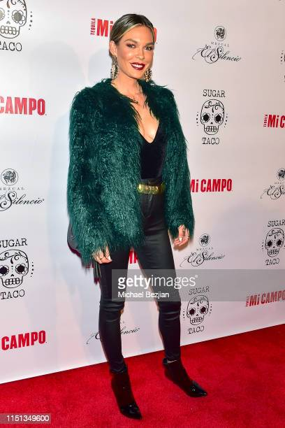 Jasmine Dustin attends Sugar Taco Vegan Mexican Restaurant Celebrity Launch Party on May 23 2019 in Los Angeles California