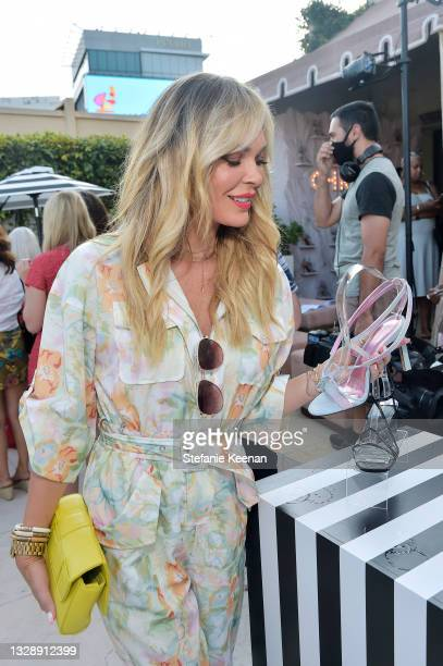 Jasmine Dustin attends the celebration of Chrishell Stause's DSW Fun, Flirty Capsule Collection at Sunset Tower Hotel on July 14, 2021 in Los...