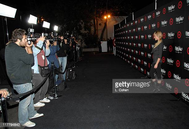 Jasmine Dustin during Target Hosts LA Fashion Week Party for Designer Mossimo Giannulli at Area in Los Angeles California United States