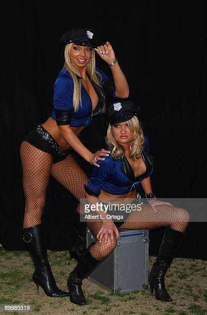 Jasmine Fiore and Blair Newton