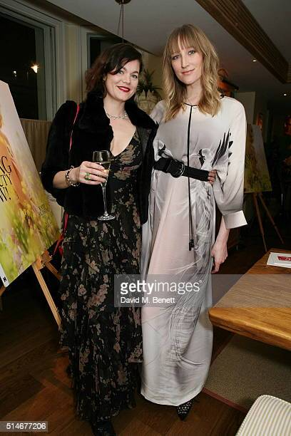 Jasmine Guinness and Jade Parfitt attend a VIP charity dinner hosted by Red Magazine in aid of mothers2mothers as part of Red's International Women's...