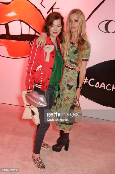 Jasmine Guinness and Laura Bailey attend the Gurls Talk x Coach Festival at 180 The Strand on July 1 2017 in London England