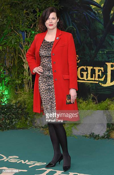 Jasmine Guinness arrives for the European premiere of 'The Jungle Book' at BFI IMAX on April 13 2016 in London England