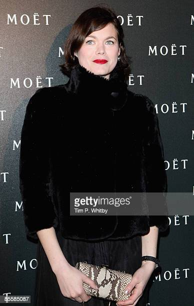 Jasmine Guinness arrives for the Moet and Chandon A Tribute to Cinema party at Big Sky Studios on March 24 2009 in London England