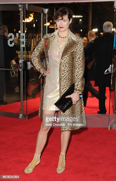 Jasmine Guinness arriving for the World Premiere of The Hunger Games Catching Fire at the Odeon Leicester Square London