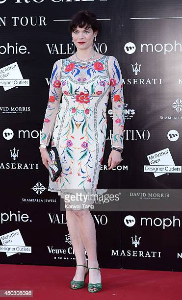 Jasmine Guinness attends a gala dinner and auction to celebate the end of the Cash Rocket tour at Natural History Museum on June 8 2014 in London...